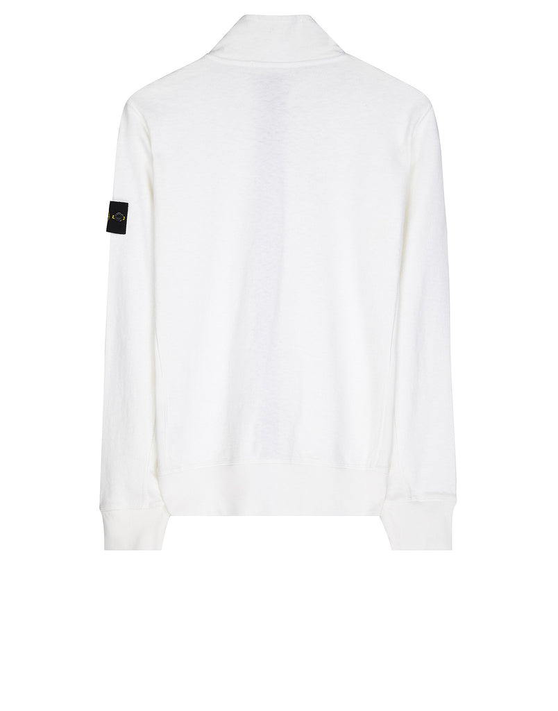 66460 T.CO+OLD Zip Sweatshirt in White