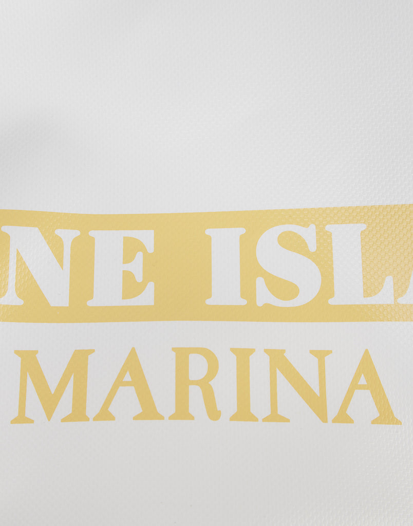 99CXD STONE ISLAND MARINA/ORTLIEB DRY BAG in Yellow
