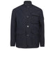 A0351 DAVID TELA LIGHT-TC Jacket in Navy