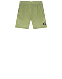 B0244 NYLON METAL Swimming Shorts in Green