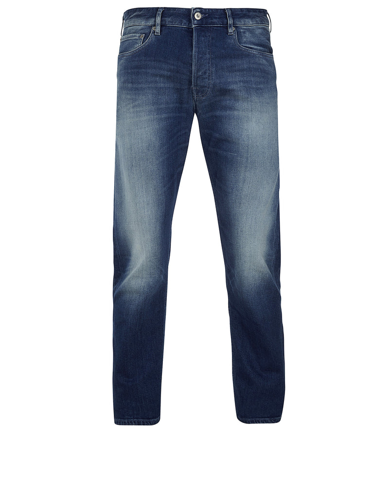 J4BN4 TAPERED STRETCH JEANS in Blue