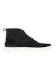 S0178 Scuba-derived ankle boot in Black
