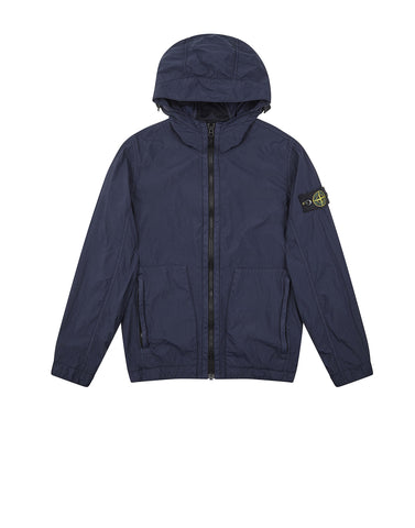 40331 Hooded Jacket in Blue