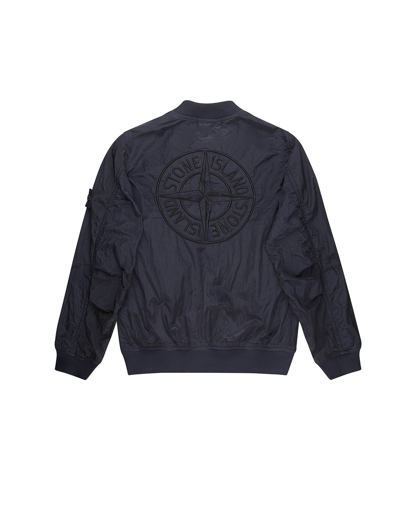 40513 NYLON METAL Bomber jacket in Navy