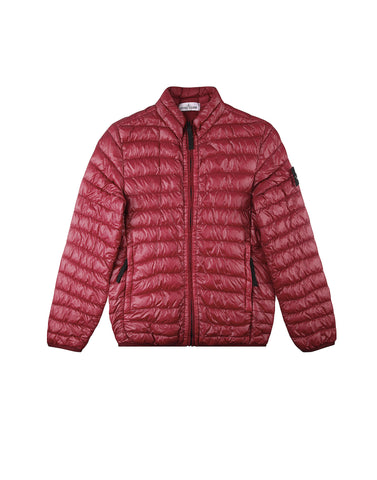 40632 GARMENT DYED YARN DOWN Jacket in Red