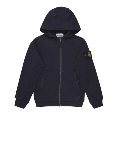 60140 Hooded Sweatshirt in Navy Blue