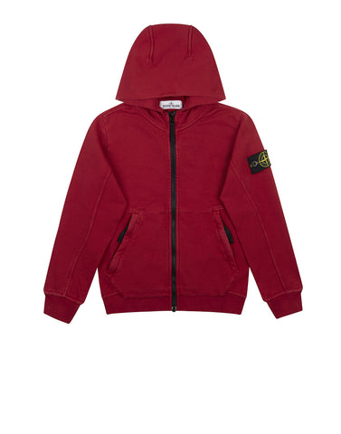 60140 Hooded Sweatshirt in Red