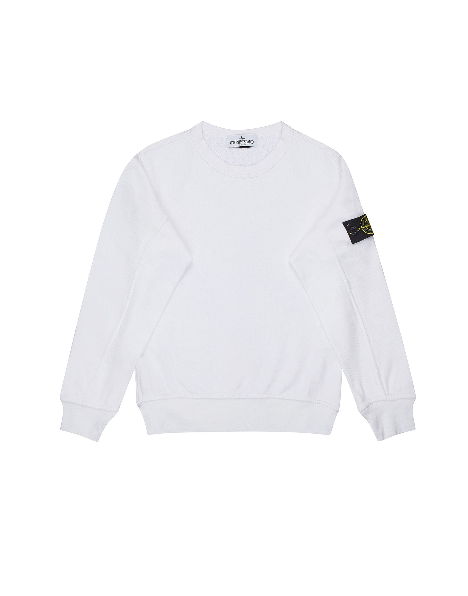 61240 Crew Neck Sweatshirt in White