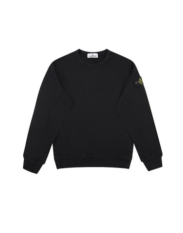 61240 Crew Neck Sweatshirt in Black