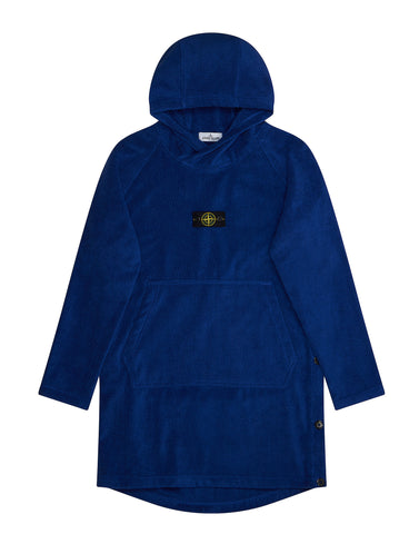 91161 Bathrobe in Blue