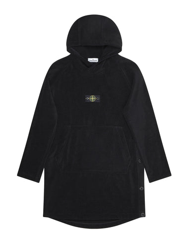 91161 Bathrobe in Black