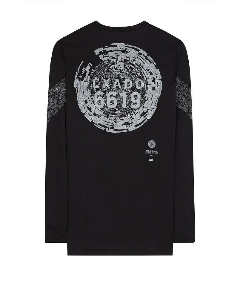 20310 CATCH POCKET-T LONG SLEEVE T-Shirt in Black