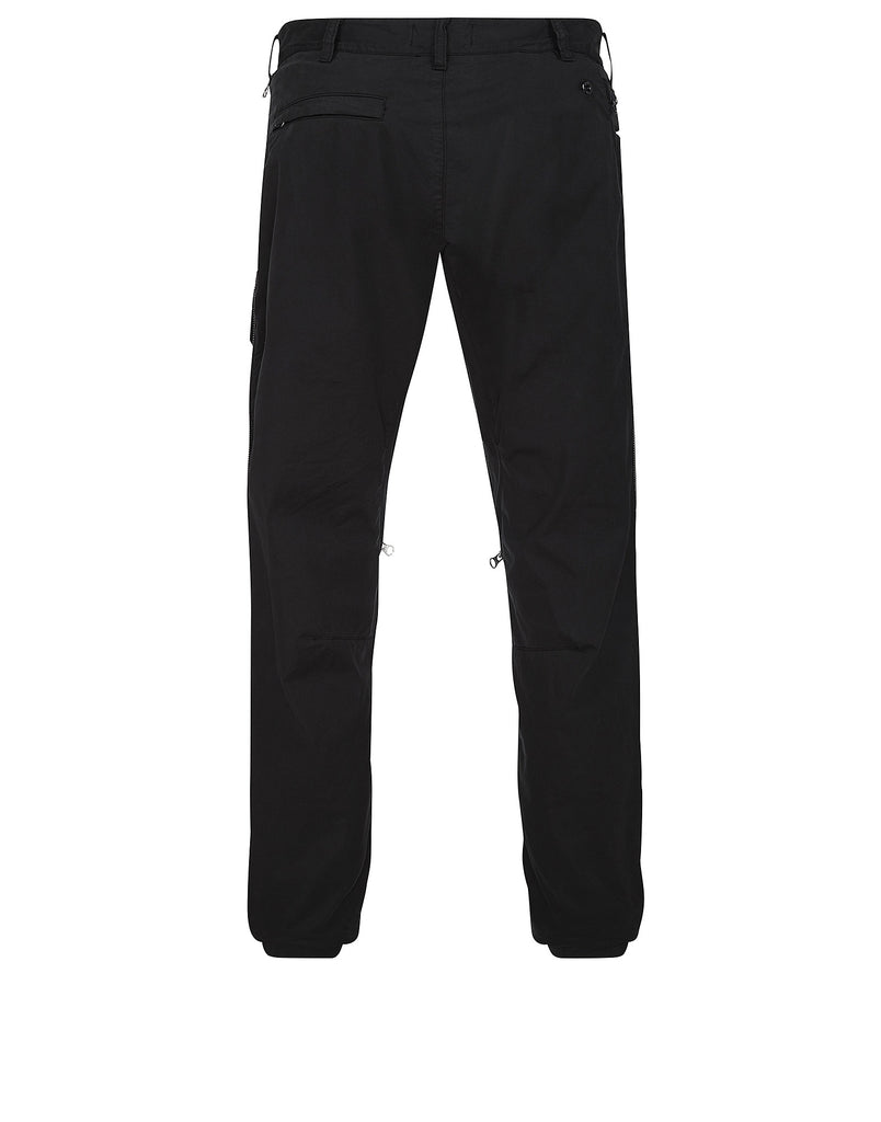 30308 VENTED CARGO PANTS WITH DROP POCKET Trousers in Black