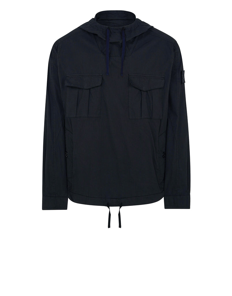 40106 Shirt Anorak With Gateway Pockets in Navy