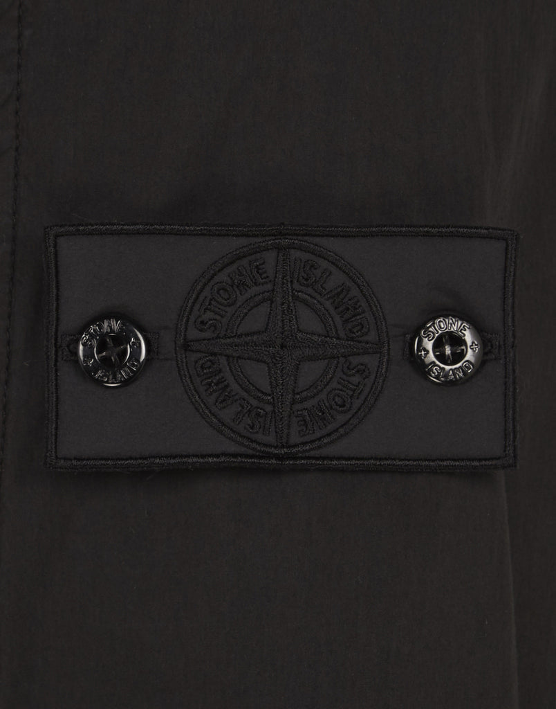 40106 Shirt Anorak With Gateway Pockets in Black