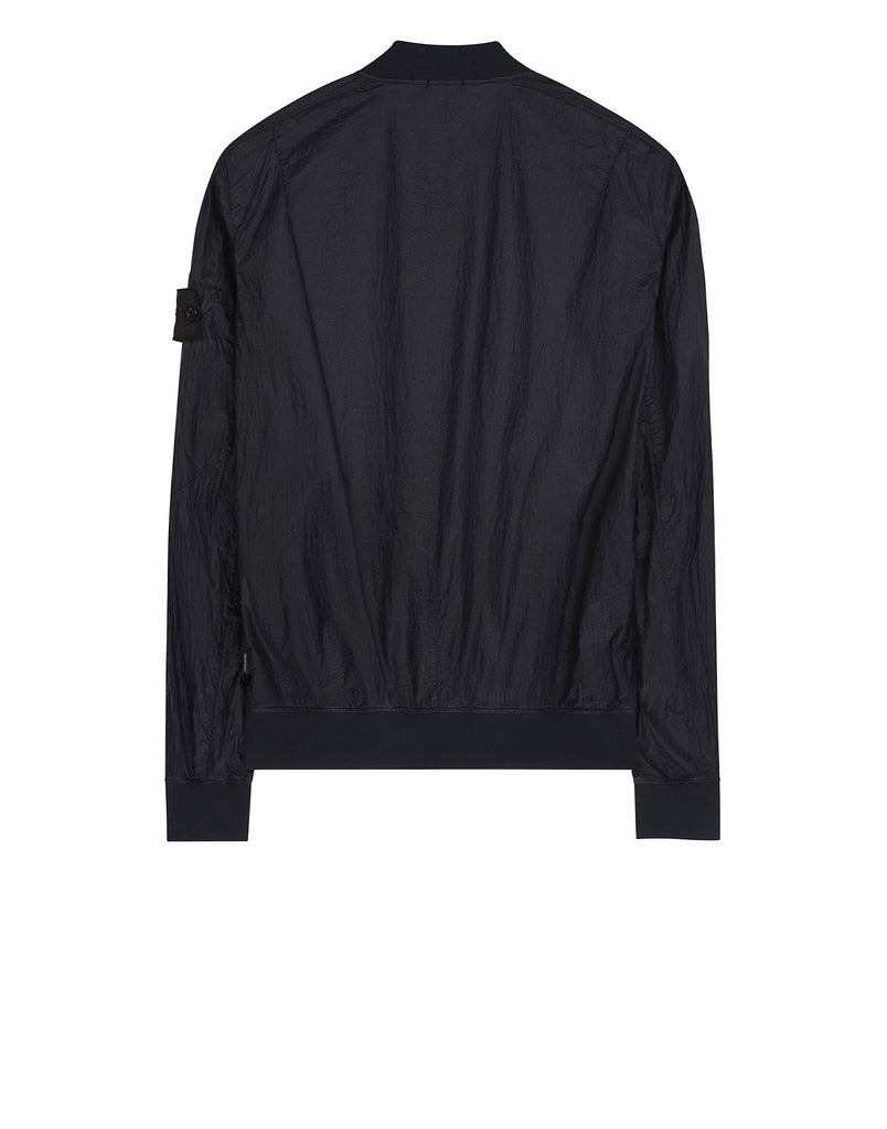 40502 SHEER VENT BOMBER JACKET in Navy