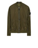 40502 SHEER VENT BOMBER JACKET in Green