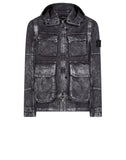 41004 DECONSTRUCT DAVID-C, TC+ SILVER MIST TREATMENT FIELD Jacket in Grey