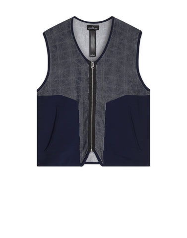 502A3 KNIT VEST in Blue