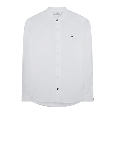 10101 Round Neck Shirt in White