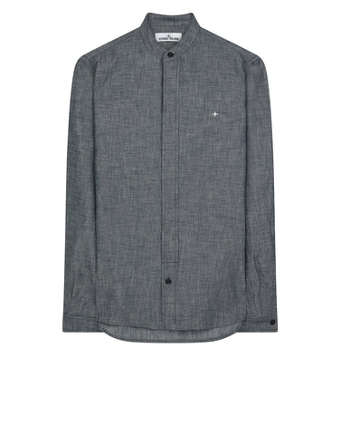 10107 Chambray Shirt in Blue
