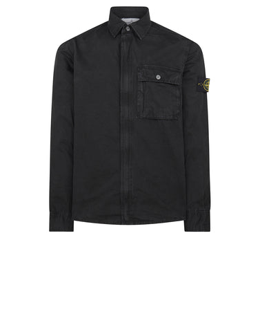 102WN T.CO+OLD Overshirt in Black