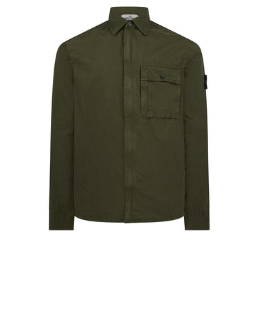 102WN T.CO+OLD Overshirt in Green