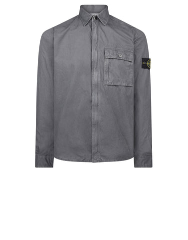 102WN T.CO+OLD Overshirt in Grey
