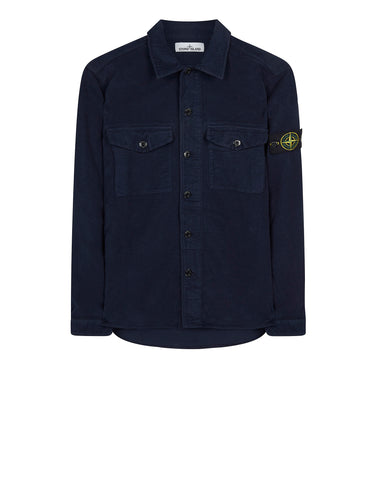 11102 Moleskin Shirt in Marine Blue