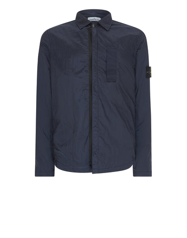 11612 NYLON METAL Overshirt in Marine Blue