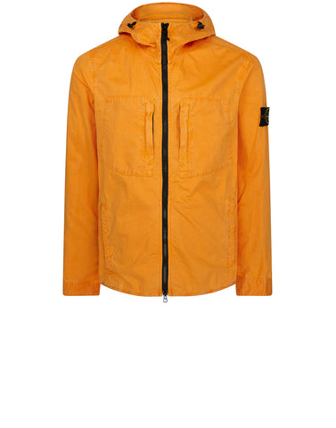 117WN T.CO+OLD Hooded Overshirt in Orange