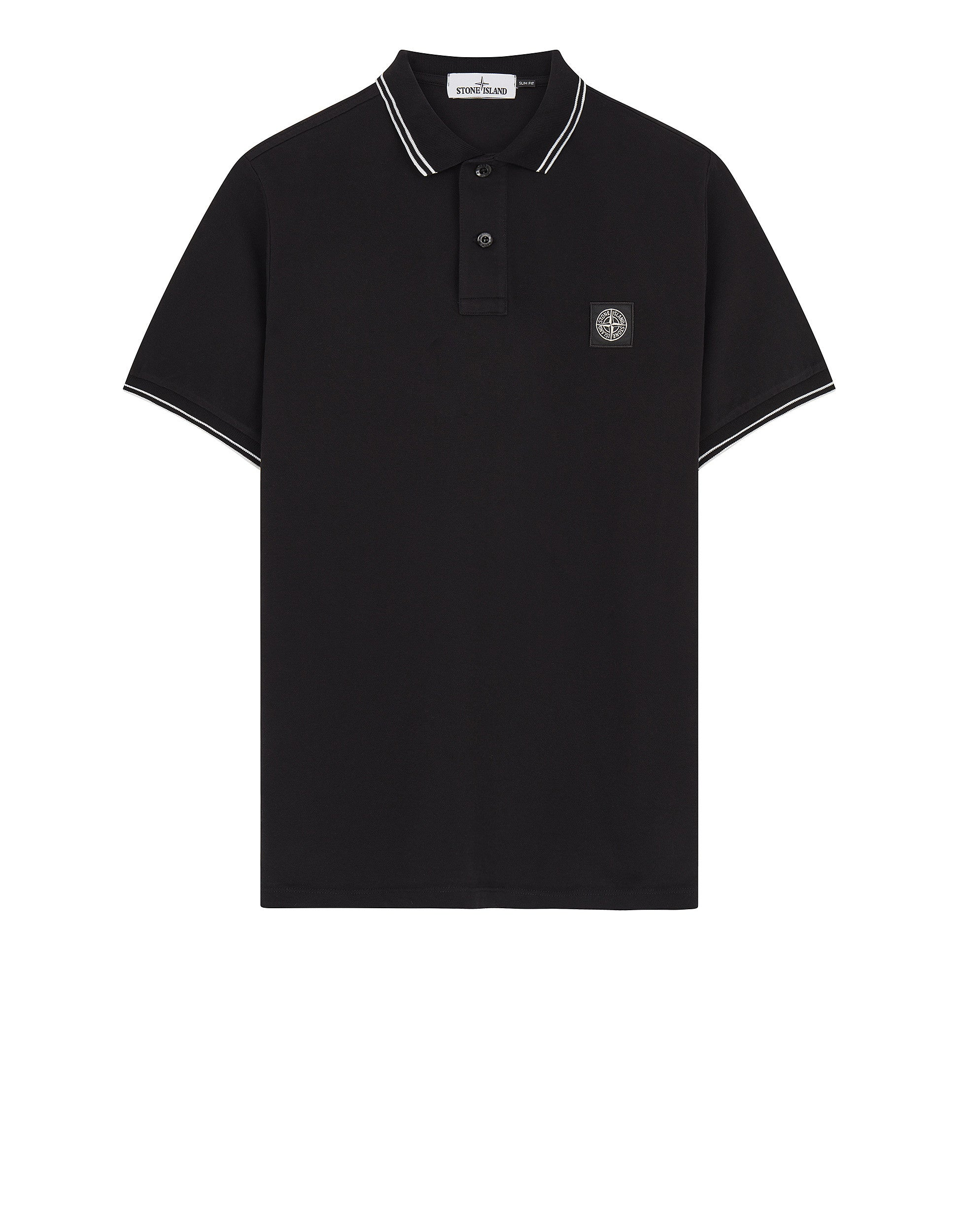 22S18 Polo Shirt in Black