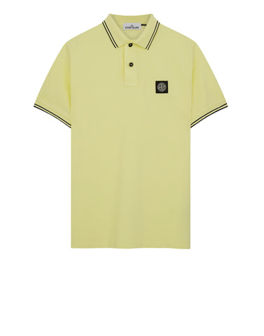 22S18 Polo Shirt in Yellow