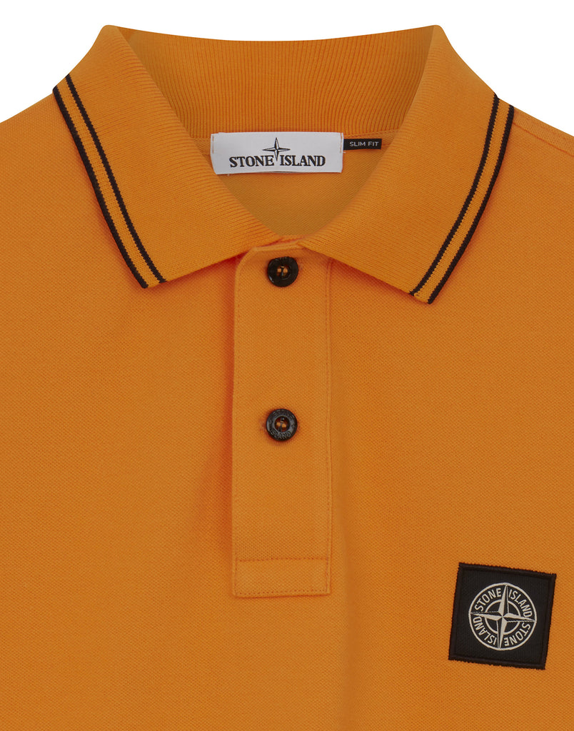 22S18 Polo Shirt in Orange