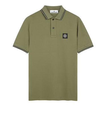 22S18 Polo Shirt in Sage