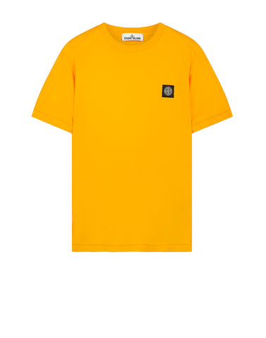 24141 Small Logo Patch T-Shirt in Orange