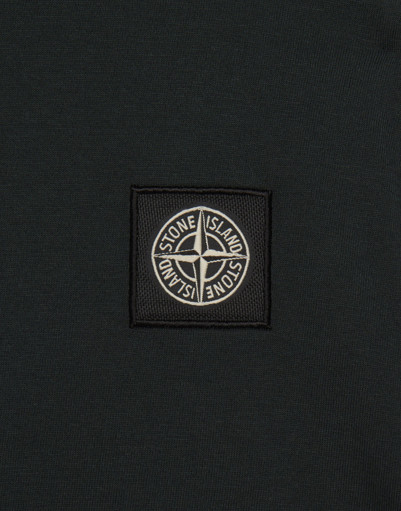 24141 Small Logo Patch T-Shirt in Dark Green