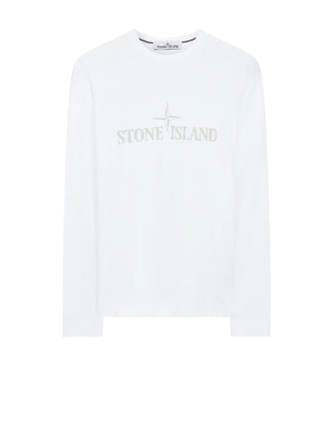 2ML88 Long Sleeve T-Shirt in White