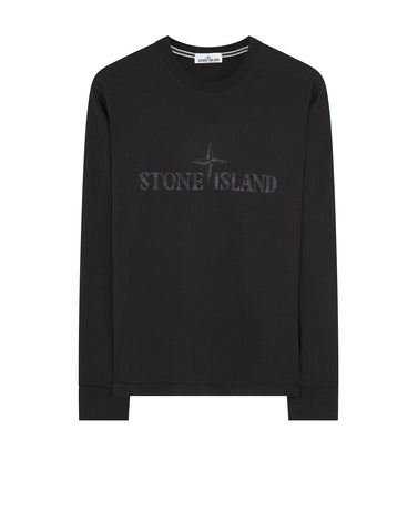 2ML88 Long Sleeve T-Shirt in Black