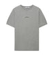 2NS83 DOUBLE PIN T-Shirt in Grey