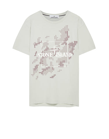 2NS84 INSTITUTIONAL CAMO T-shirt in White