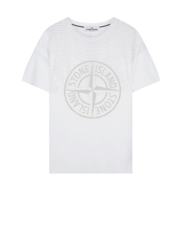2NS85 RUST PIN T-Shirt in White
