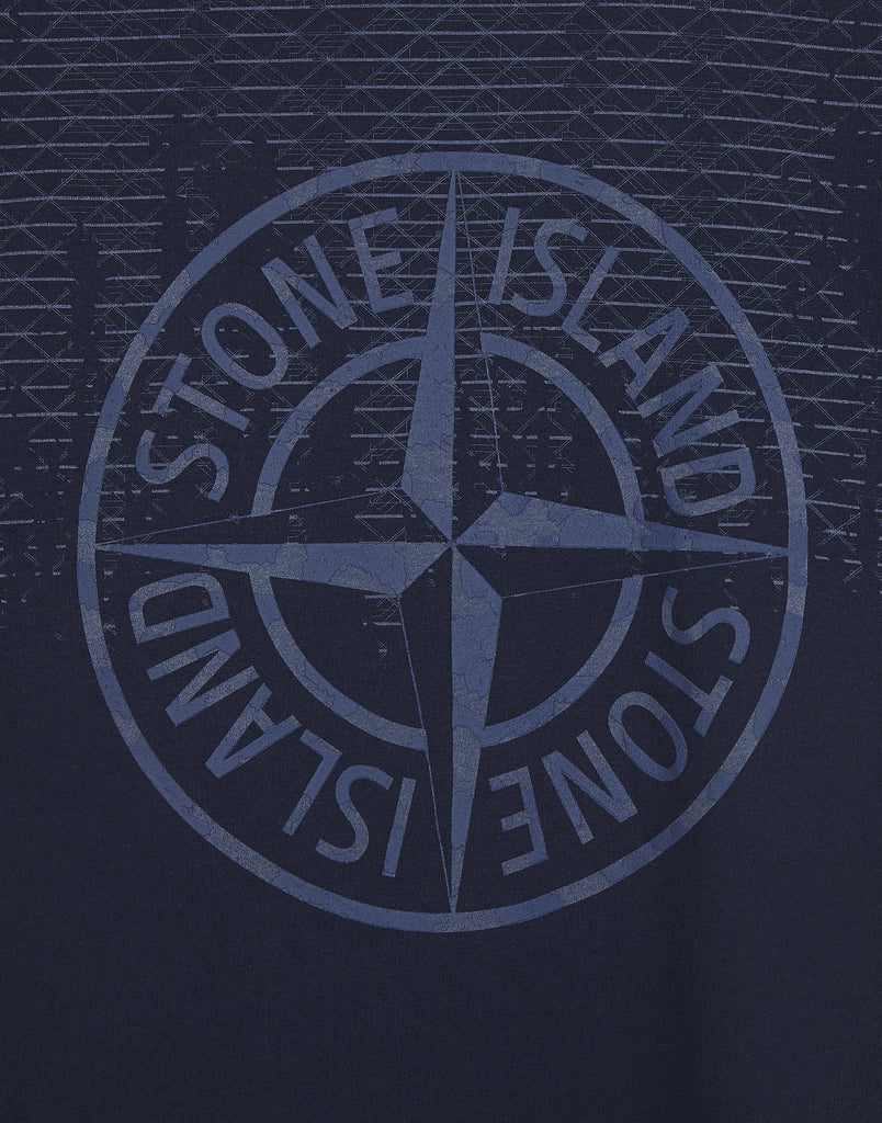 2NS85 RUST PIN T-Shirt in Blue