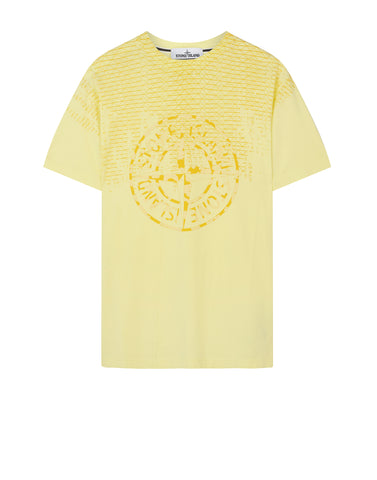 2NS85 RUST PIN T-Shirt in Yellow