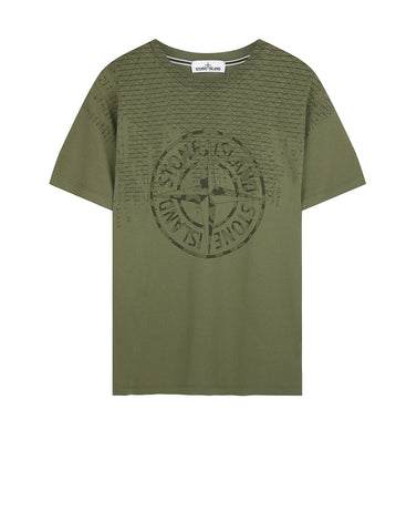 2NS85 RUST PIN T-Shirt in Khaki