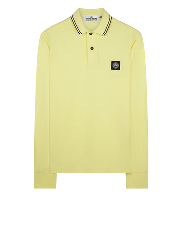 2SS18 Long Sleeve Polo Shirt in Yellow
