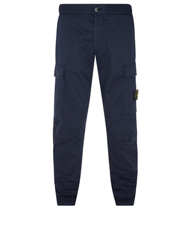 30804 Cotton Cargo Pants in Marine Blue
