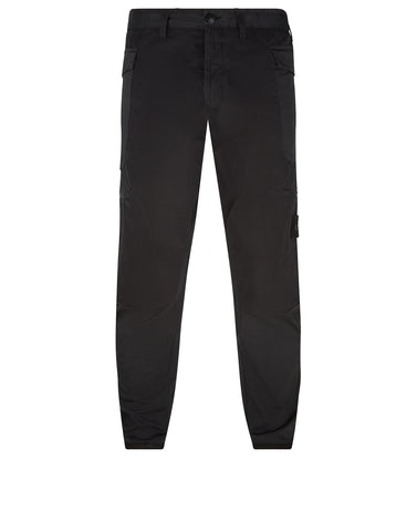 30909 GHOST PIECE_Work Pants in Black