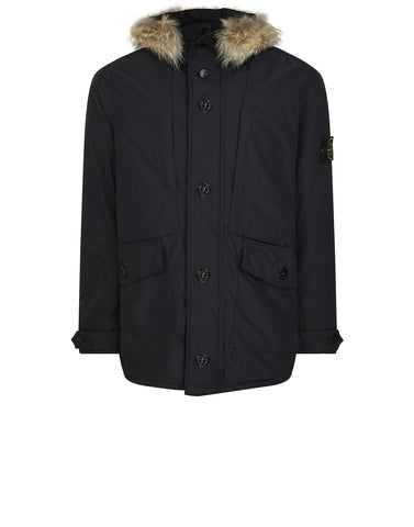 41226 MICRO REPS DOWN PARKA in Black