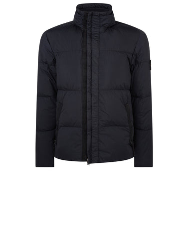42223 GARMENT DYED CRINKLE REPS NY DOWN Jacket in Navy